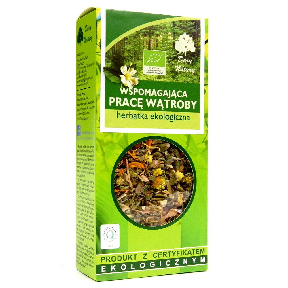 Herbata wspomagajaca prace watroby Eko / Liver Support Tea 50g   5902741005205  / [942]   Funkcyjne Herbaty Lisciaste