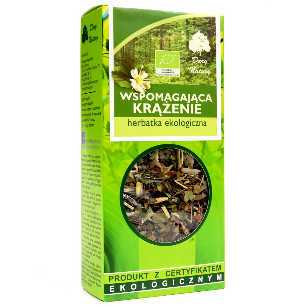 Herbata Wspomagajaca Krazenie / Circulation Tea 50g   5902741005151  / [948]   Funkcyjne Herbaty Lisciaste