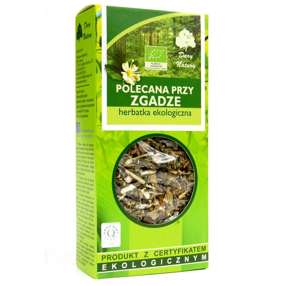 Herbata polecana przy zgadze Eko / Heartburn Support Tea 50g   5902741005243  / [973]   Funkcyjne Herbaty Lisciaste