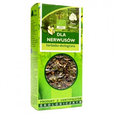 Herbata dla nerwusow Eko / Herbal Tea for Nerves 50g   5902741005236  / [0.408]   Funkcyjne Herbaty Lisciaste