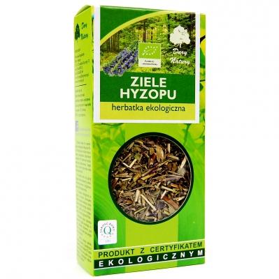 Hyzop ziele Eko / Hyssop Herb Tea 50g   5902741000545  / [914]   Lisciaste