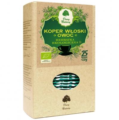 Koper wloski owoc Eko / Italian Fennel Tea 25x2g   5902741003102  / [891]   Ziolowe Herbaty Ekspresowe