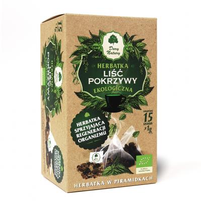 Pokrzywa lisc Eko / Nettle Leaf Tea 25x1.5g   5902741001375  / [912]   Ziolowe Herbaty Ekspresowe