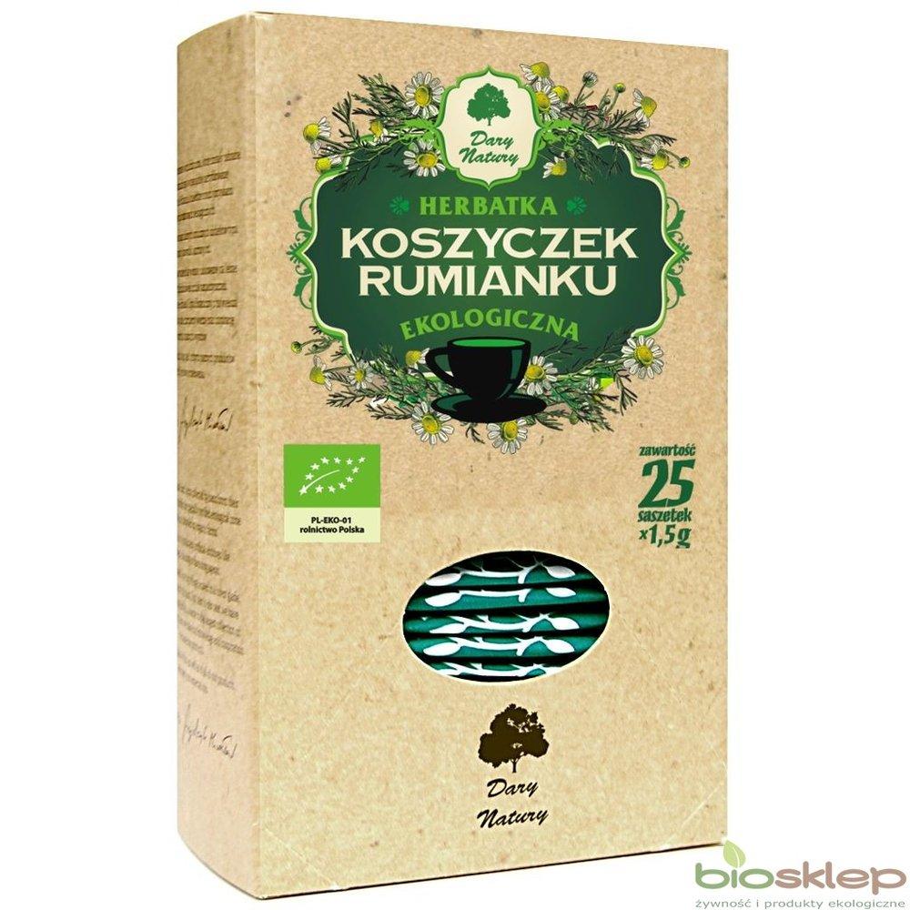 Rumianek koszyczek Eko / Chamomile Tea 25x2g   5902741006240  / [913]   Ziolowe Herbaty Ekspresowe