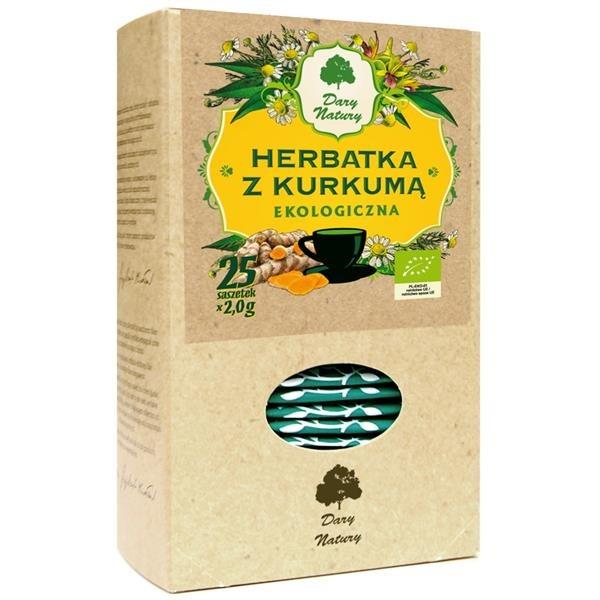 Herbata z kurkuma Eko / Turmeric Tea 25x2   5902741002877  / [901]   Ziolowe Herbaty Ekspresowe
