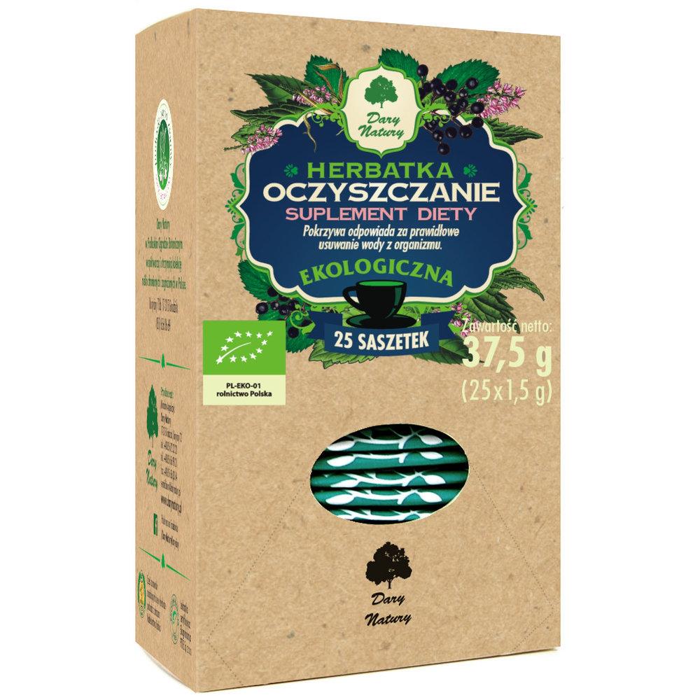 Herbata oczyszczajaca Eko / Cleansing Tea 25x1.5g   5902741001283  / [902]   Funkcyjne Herbaty Ekspresowe Eko