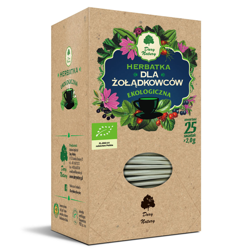 Herbata dla zoladkowcow Eko / Stomach Tea 25x2g   5902741005892  / [898]   Funkcyjne Herbaty Ekspresowe Eko