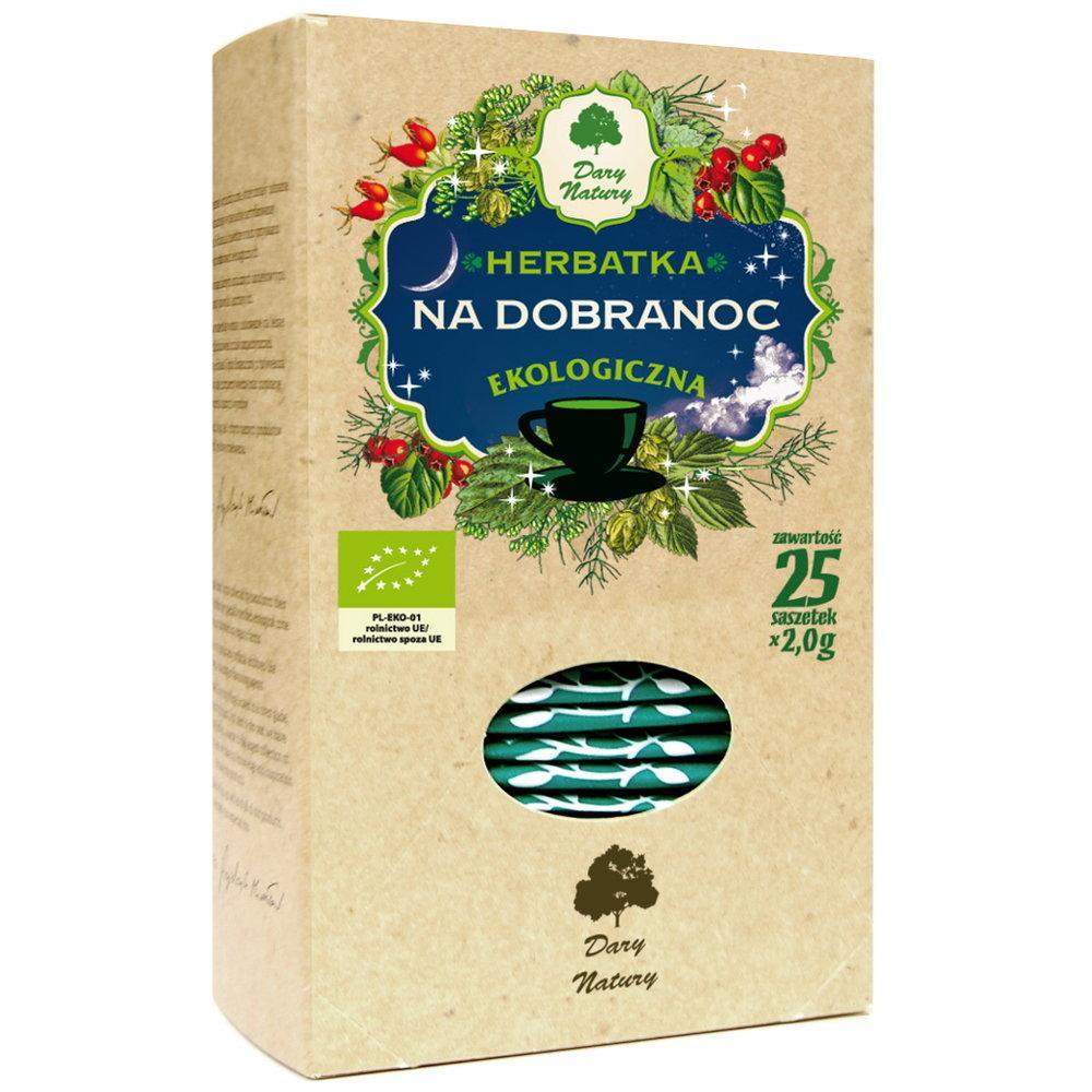 Herbata na dobranoc / Goodnight Tea 25x2g   5902741006103  / [900]   Funkcyjne Herbaty Ekspresowe Eko