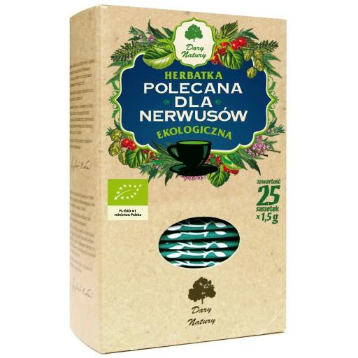 Herbata dla nerwusow Eko / Tea for Nerves 25x1.5g   5902741005328  / [899]   Funkcyjne Herbaty Ekspresowe Eko