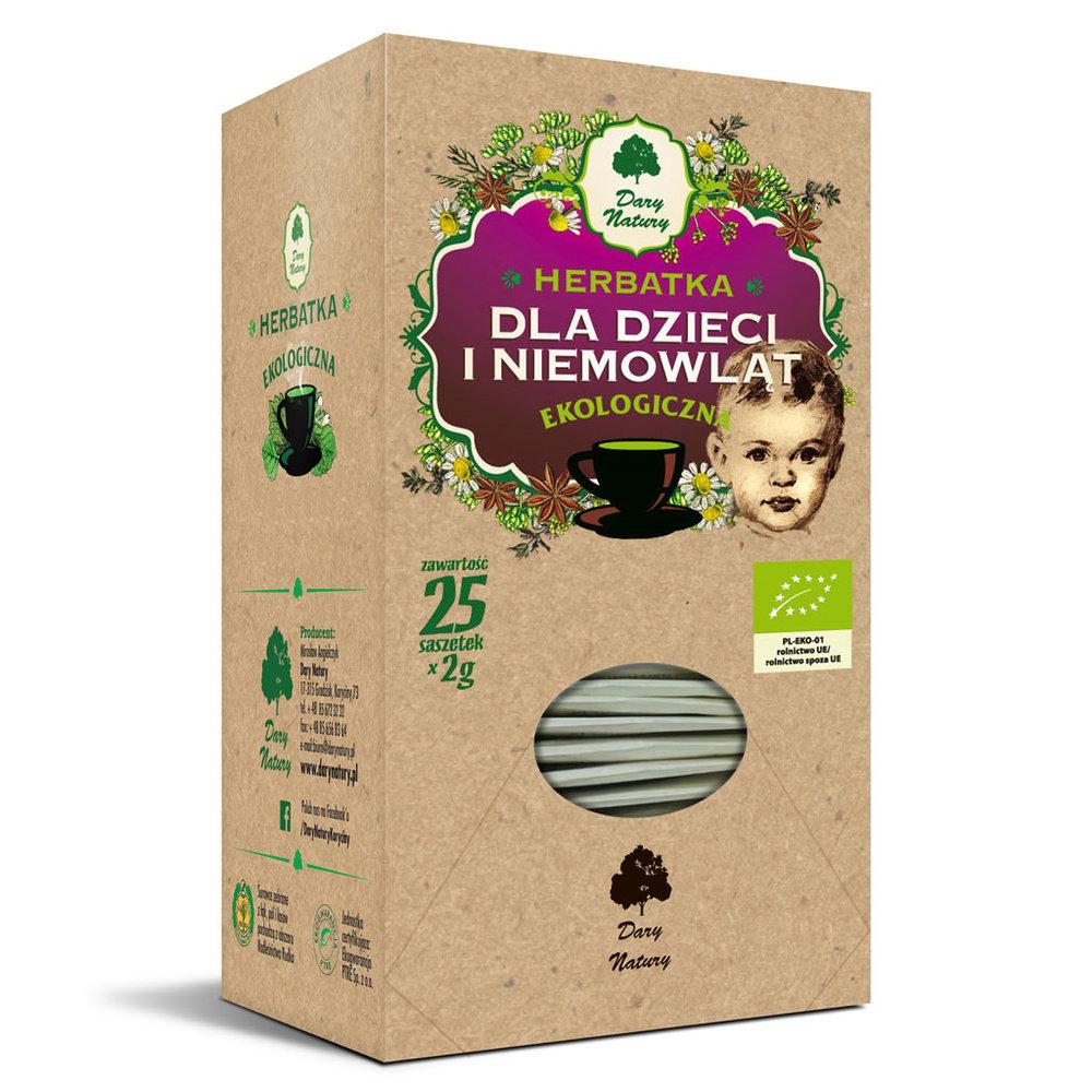 Herbatka dla dzieci i niemowlat Eko / Tea for Children & Babies 20x2g   5902741007292  / [978]   Funkcyjne Herbaty Ekspresowe Eko