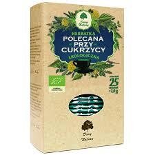 Herbata polecana przy cukrzycy Eko / Tea for Diabetics 25x2g   5902741005281  / [904]   Funkcyjne Herbaty Ekspresowe Eko