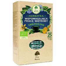 Herbata wspomagajaca prace watroby Eko / Liver Support Tea 25x1.5g   5902741001221  / [908]   Funkcyjne Herbaty Ekspresowe Eko