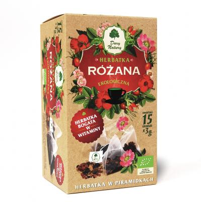 Czarna Rozana Eko / Black Rose Tea 15x2g   5902581617323  / [890]   Piramidki Herbaty Eko