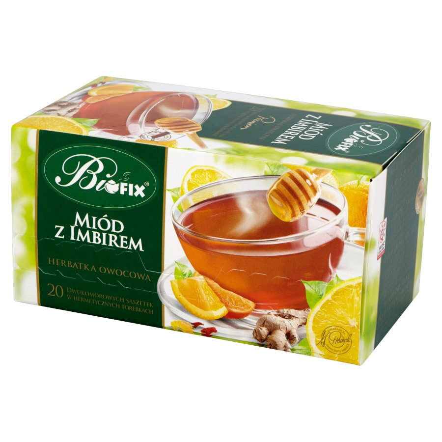 Honey & Ginger Tea 40g   5901483200077  / [849]   Bifix Premium