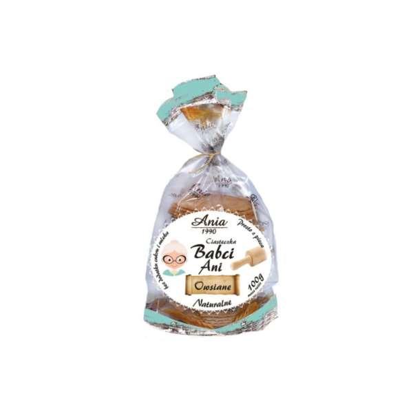 Ciasteczka Babci Naturalne / Grandma's Oatmeal Cookies 100g   01035817661927  / [0.482]   Bio Ania-Ciastka Ekologiczne