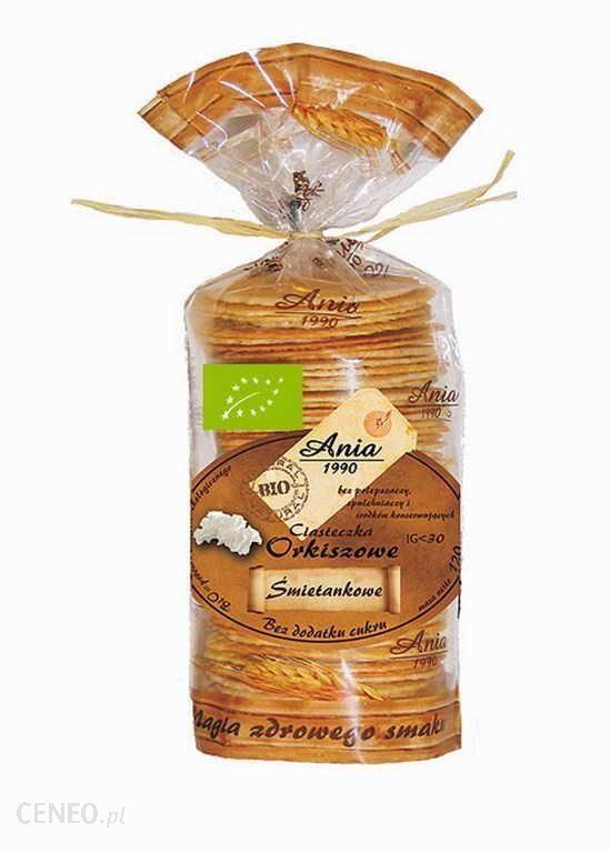 Chlebek Orkiszowy / Bread 80g   01035817661270  / [0.219]   Bio Ania-Ciastka Ekologiczne