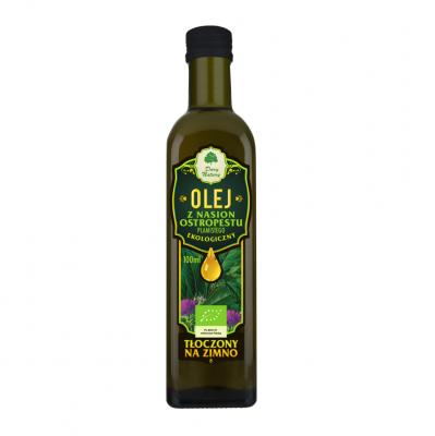 Olej z ostropestu / Milk thistle oil 100ml   5902581616067  / [0033]   Dary Natury-Organic