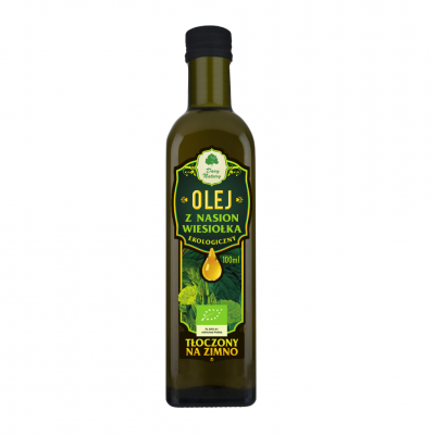 Olej z wiesiolka Eko / Oil of evening primrose organic 100ml   5902581616104  / [0038]   Dary Natury-Organic