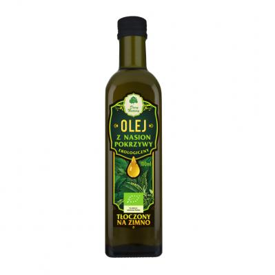 Olej z nasion pokrzywy Eko / nettle seeds oil 100ml   5902581616111  / [0.393]   Dary Natury-Organic