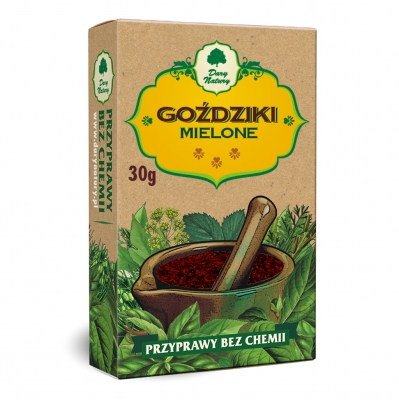 Gozdziki mielone / Minced Cloves 30g   5902741001764  / [482]   Dary Natury