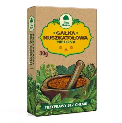 Galka muszkatolowa mielona / Ground Nutmeg 30g   5902741001696  / [455]   Dary Natury