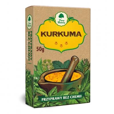 Kurkuma / Tumeric 50g   5902741000385  / [483]   Dary Natury