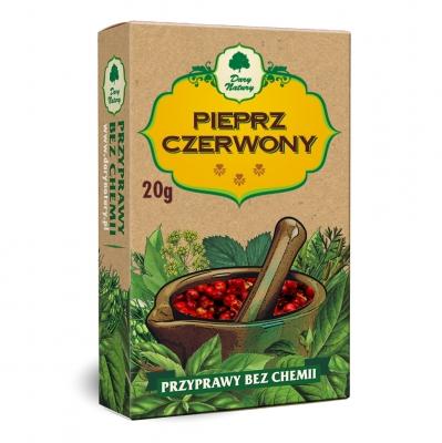 Papryka czerwona suszona / Red pepper-dried 50g   5902741002990  / [368]   Dary Natury