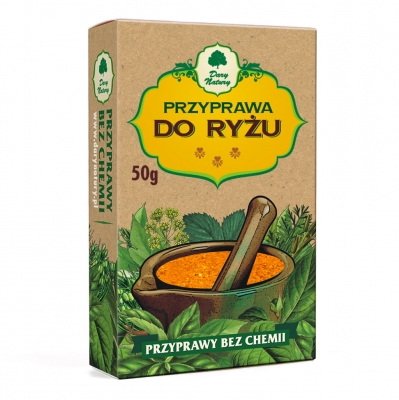 Przyprawa do ryzu / Rice Seasoning 50g   5902741002747  / [366]   Dary Natury