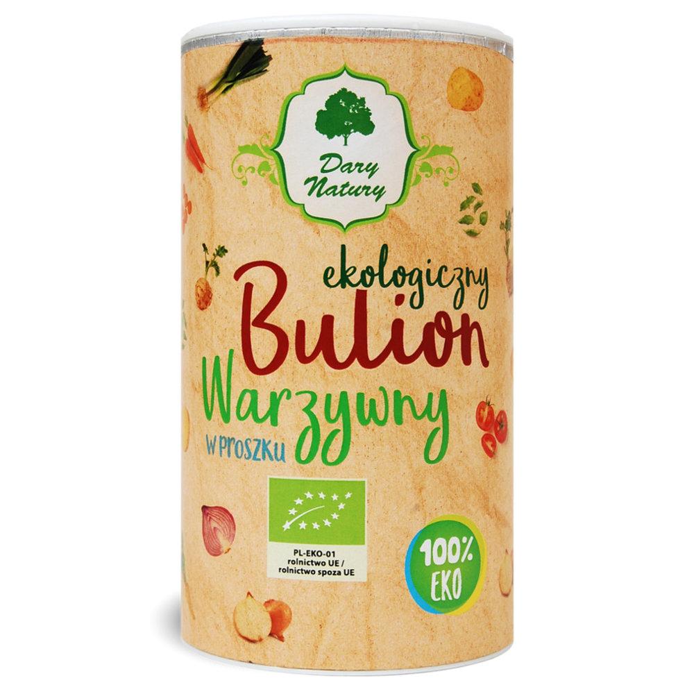 Bulion Warzywny Eko w Proszku / Vegetable Broth Powder 200g  000 / [361]   Dary Natury