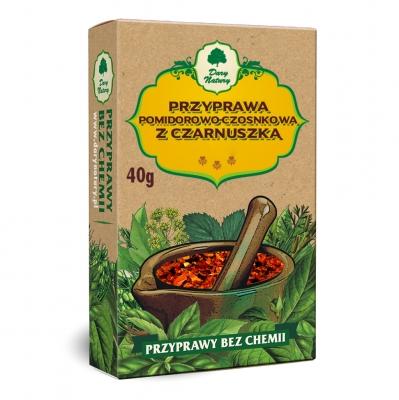 Przyprawa pomidorowo-czosnkowa z czarnuszka / Black Cumin Tomato & Garlic Seasoning 40g   5902768527353  / [485]   Dary Natury