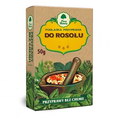Przyprawa do rosolu / Chicken Broth Seasoning 50g   5902741002150  / [421]   Dary Natury