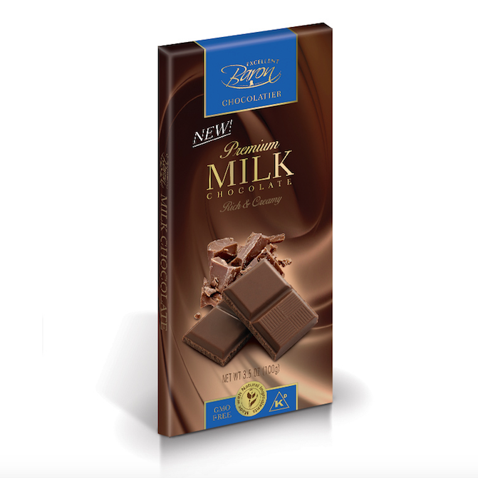 Milk Chocolate 100g   819077011624  / [102]   Baron Chocolatier