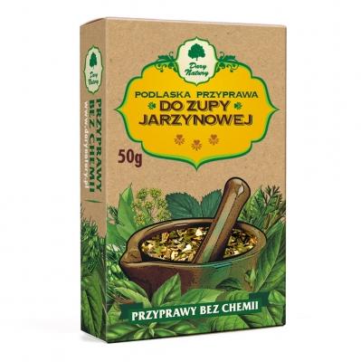 Do Zupy Jarzynowej / Vegetable Soup Seasoning 50g  5902741004529 / [425]   Dary Natury