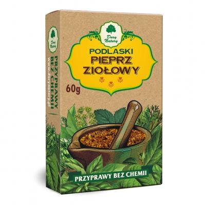 Warzywno-Ziolowa do Potraw / Vegetable & Herbal Pepper Dish Seasoning 50g  5902741004529 / [431]   Dary Natury