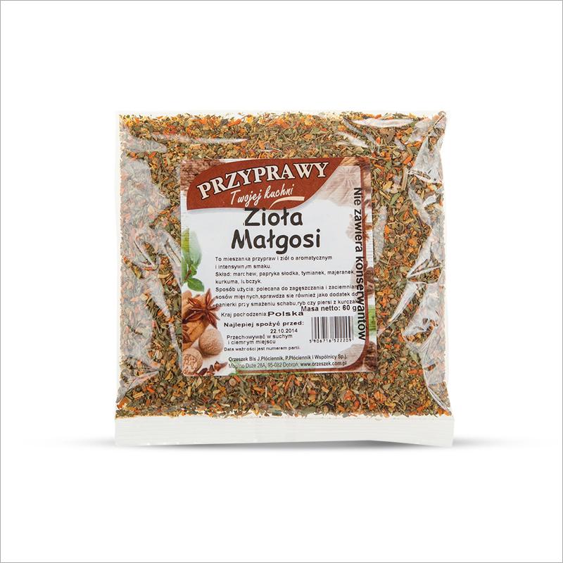 Ziola Malgosi / Herbs for Malgosia 60g  000 / [0.245]   Orzeszek