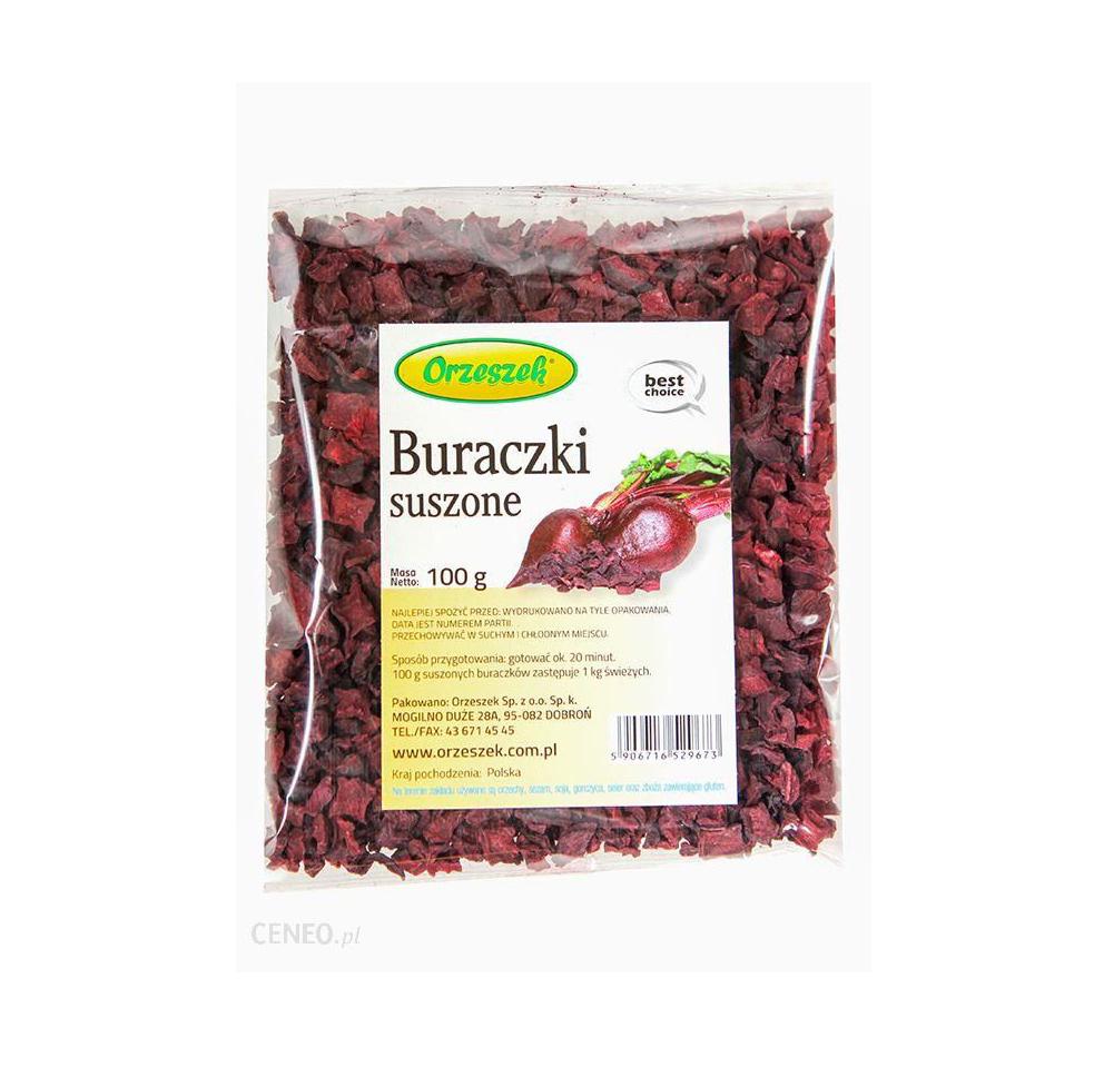 Buracski Suszone / Dried Beets 100g  000 / [0.239]   Orzeszek
