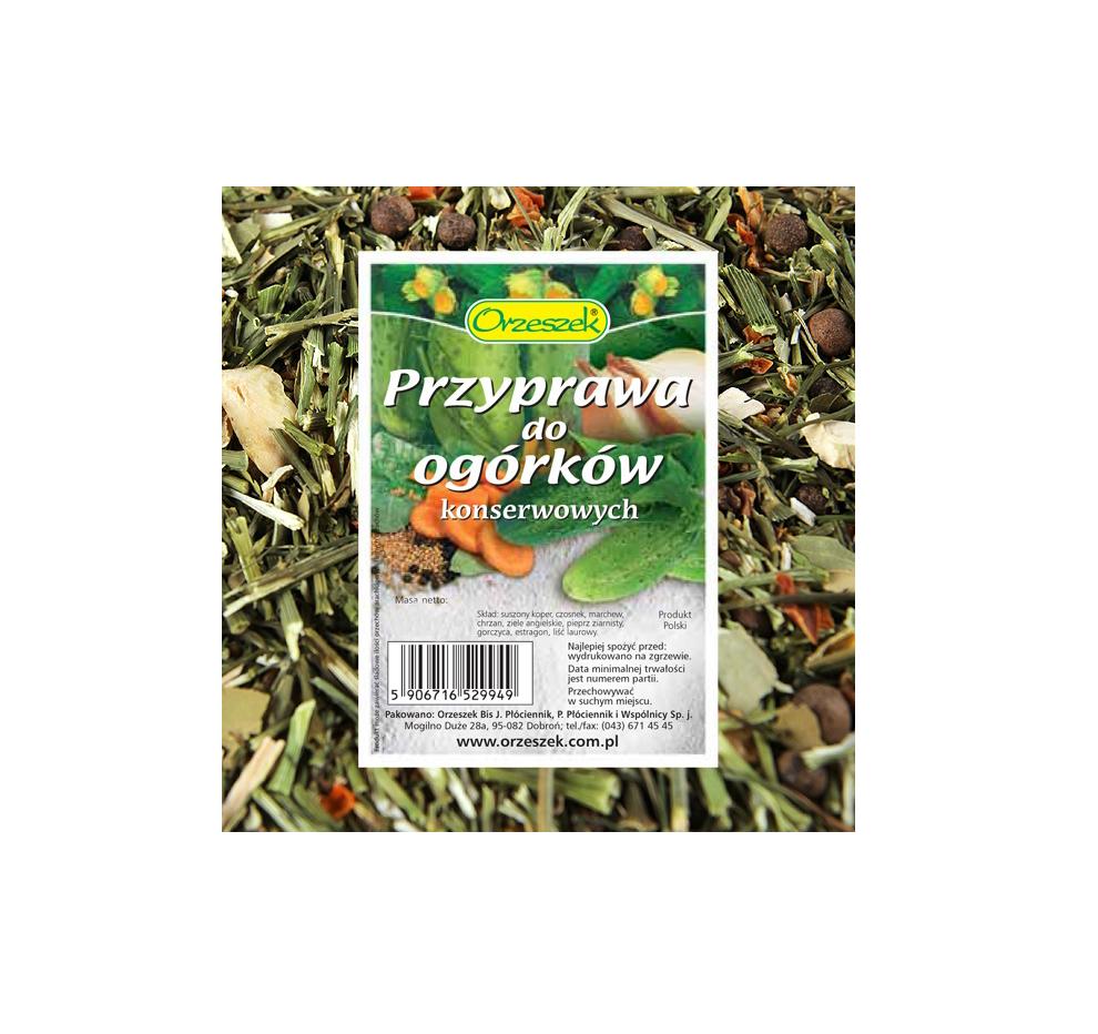Przyprawa do Ogorkow Kwaszonych / Sour Cucumber Seasoning 45g  000 / [0.313]   Dary Natury