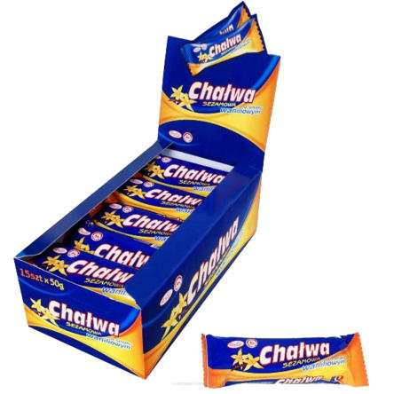 Chalwa waniliow / Halva 50g   5902097150956  / [720]   Unitop