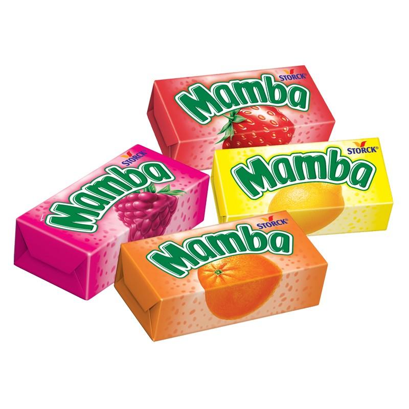 Mamba Kostka / Chewing Candy 26.5g   40144511  / [763]   Storck