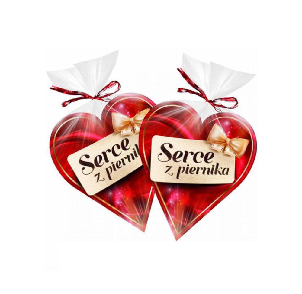 Serce Piernikowe / Gingerbread Heart 90g   5900823016026  / [321]   Liwocz