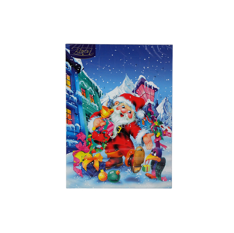 Advent Calendar 50g   859331003422  / [250]   Baron Chocolatier