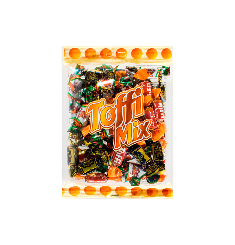 Toffi Mix / Toffee Flavored Candy 300g   5901774008979  / [356]   Roksana