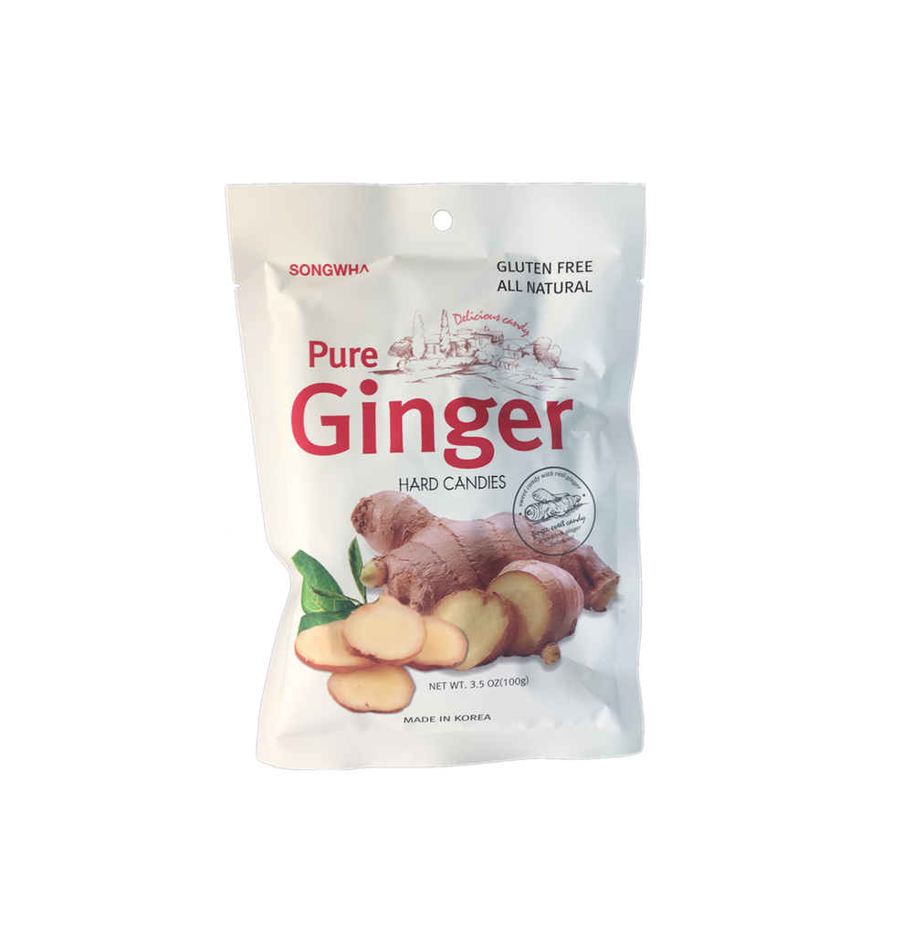 Pure Ginger Hard Candy 100g   8809390593091  / [335]   Songhwa