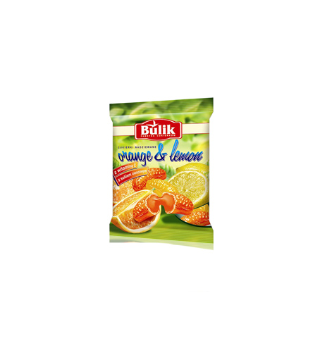 Orange & Lemon Candies 100g   0103581766102  / [304]   Bulik