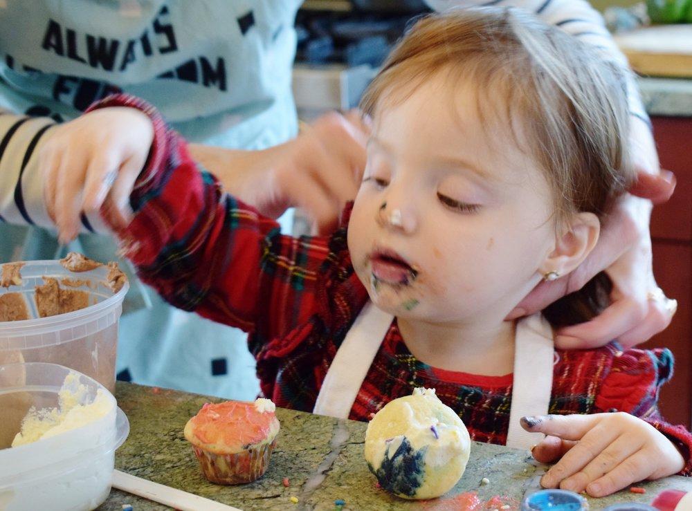 buttermilk cupcakes sassi kitchen