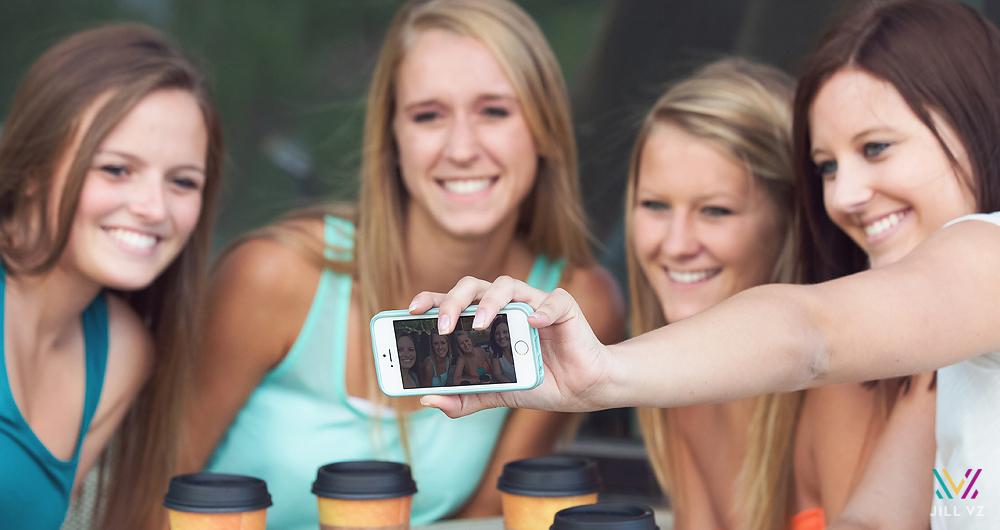 seniors selfie photos