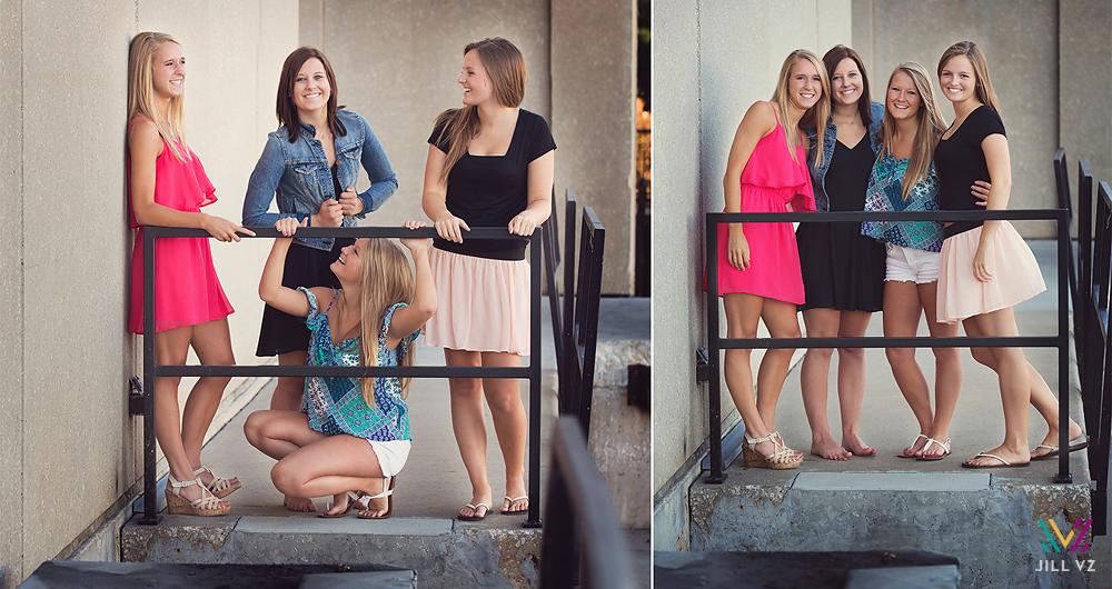 senior photos girls