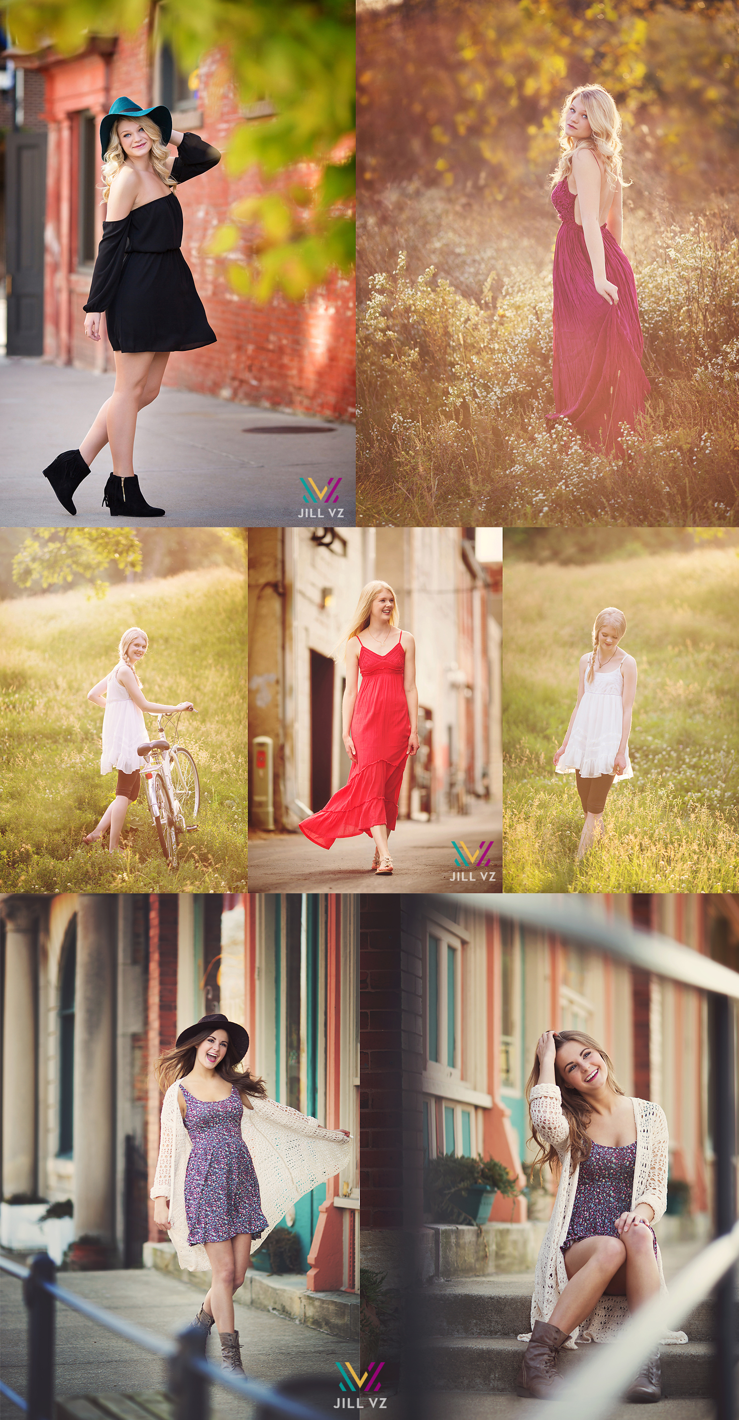 what to wear boho fashion senior photos
