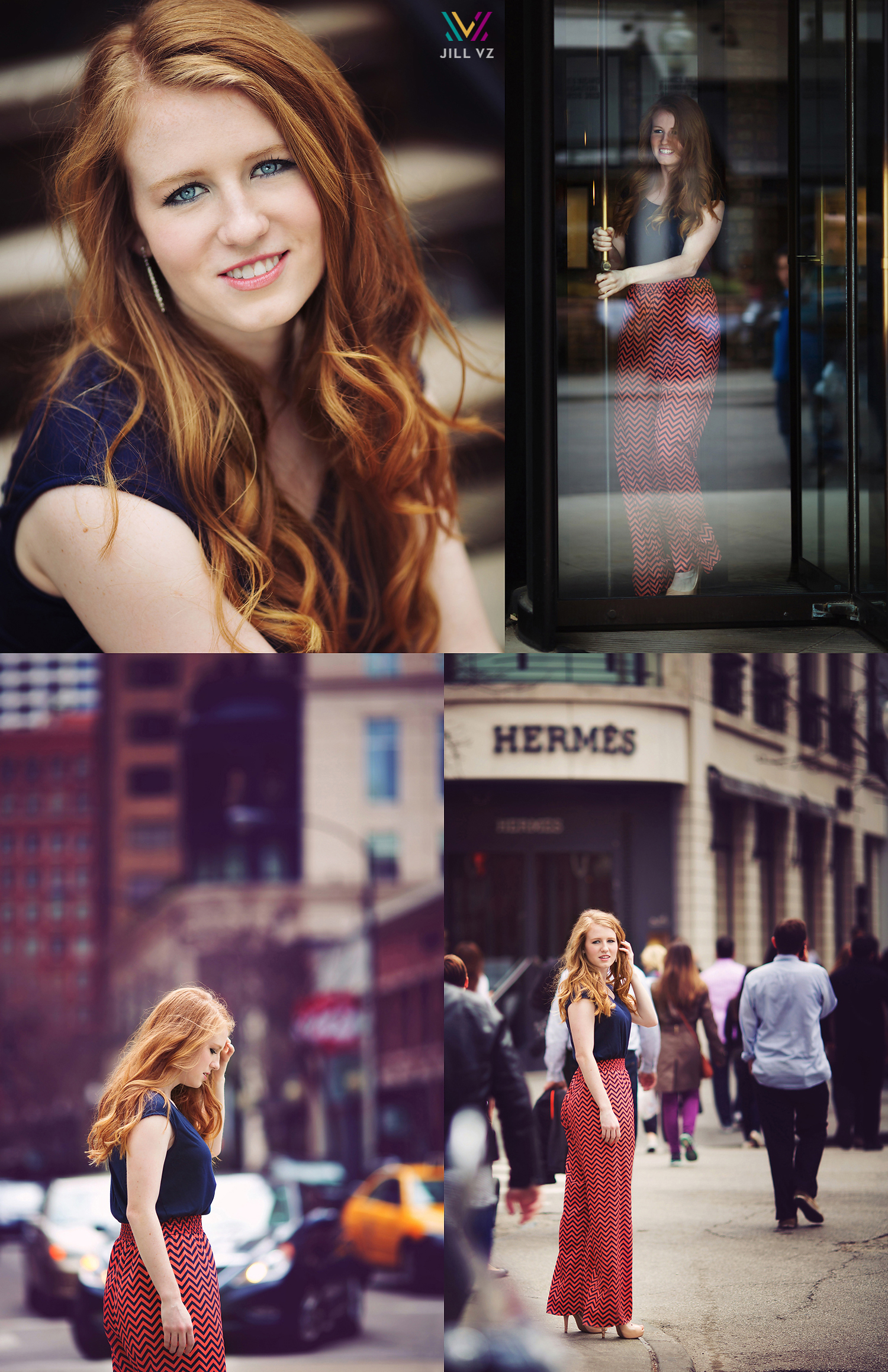 Michigan Avenue Senior Photos