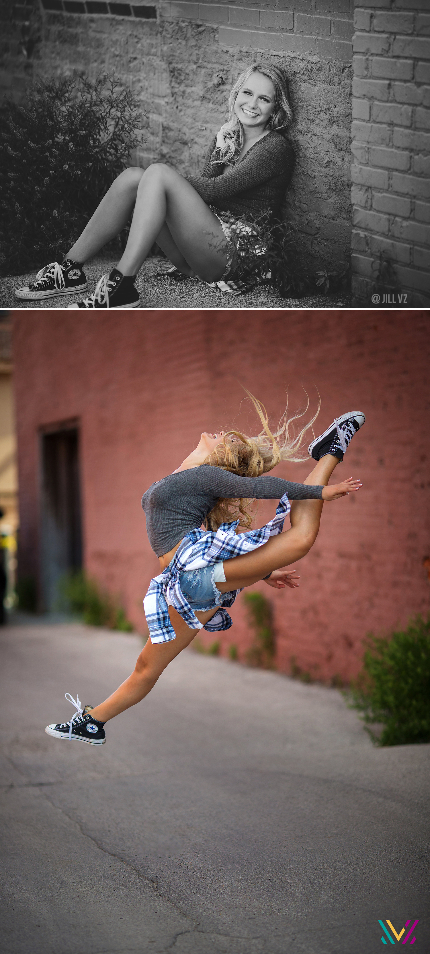 Dance jumps seniors